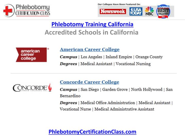 Ppt Phlebotomy Training California Powerpoint Presentation Id415731
