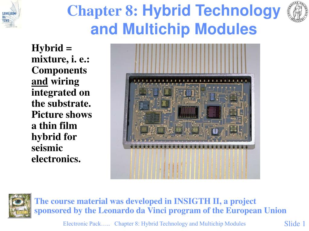 chapter 8 hybrid technology and multichip modules l.