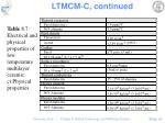 ltmcm c continued61
