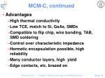 mcm c continued51