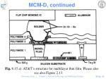mcm d continued