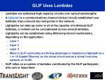 glif uses lambdas