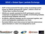 gole global open lambda exchange