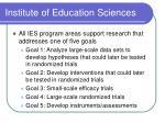 institute of education sciences14