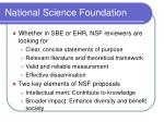 national science foundation8
