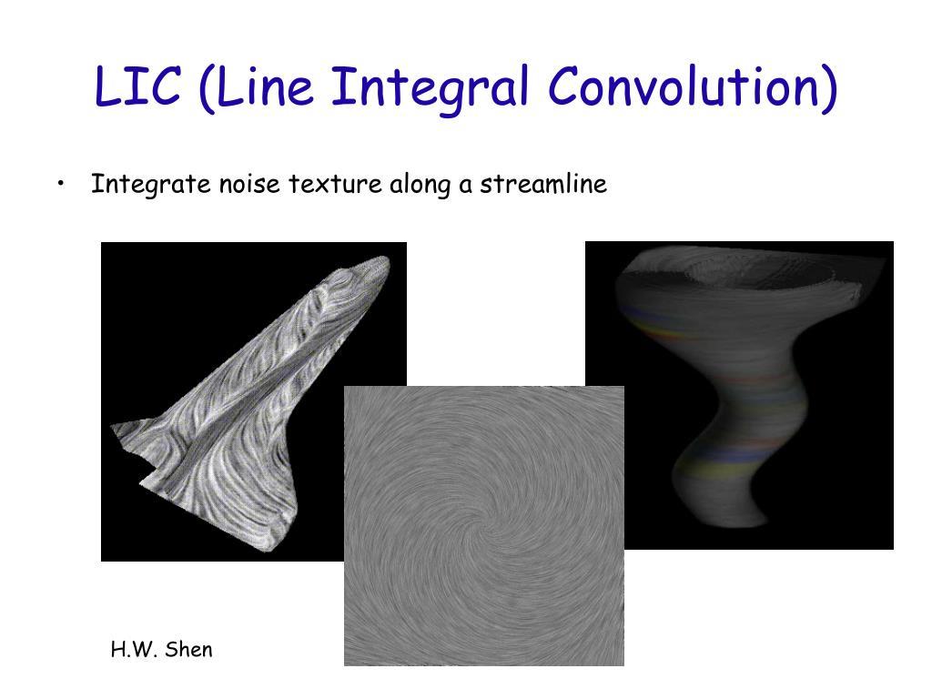 LIC (Line Integral Convolution)