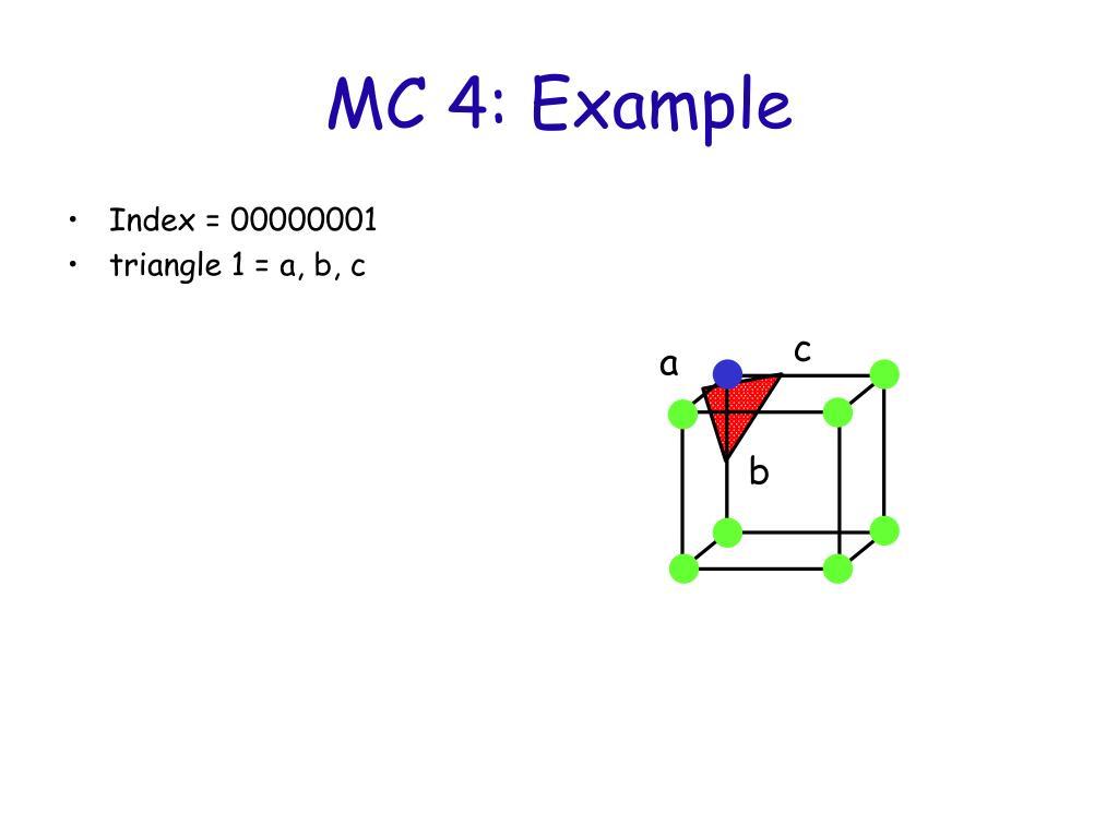 MC 4: Example
