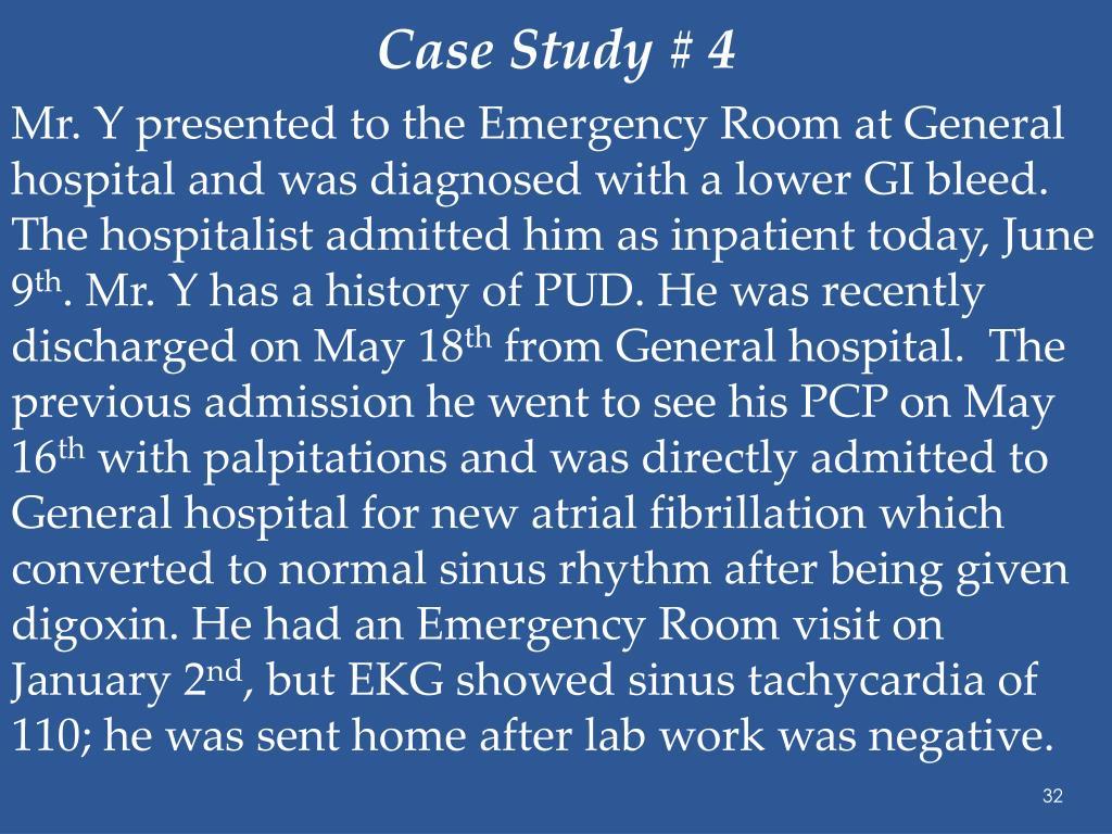 Case Study # 4