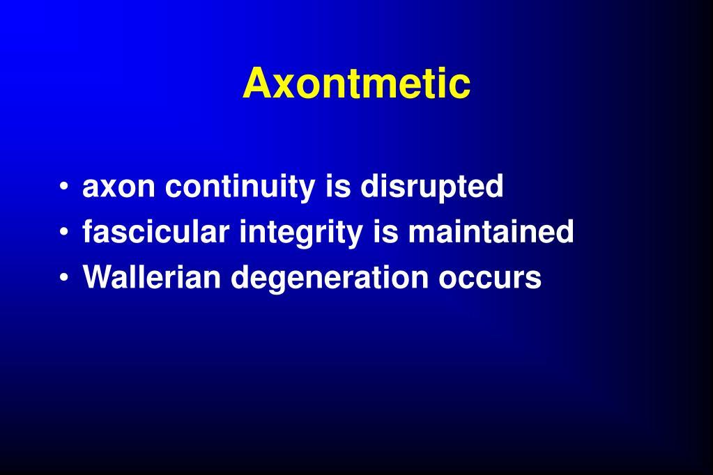 Axontmetic