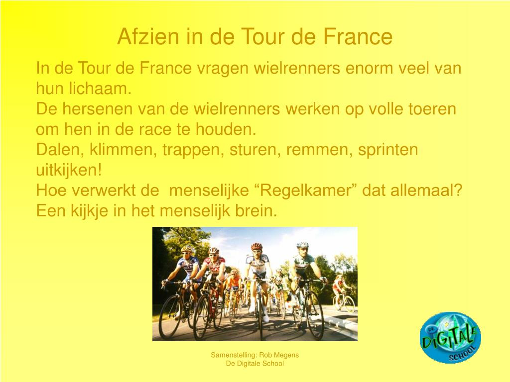 afzien in de tour de france l.