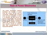 role of power electronics