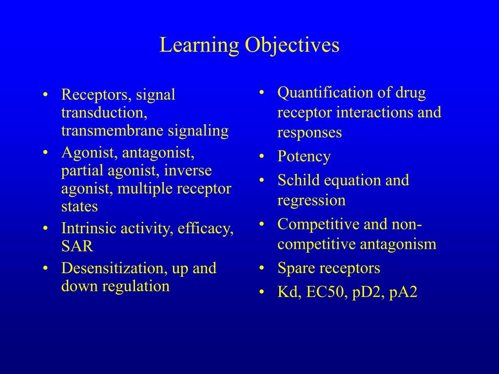 Receptors, signal transduction, transmembrane signaling