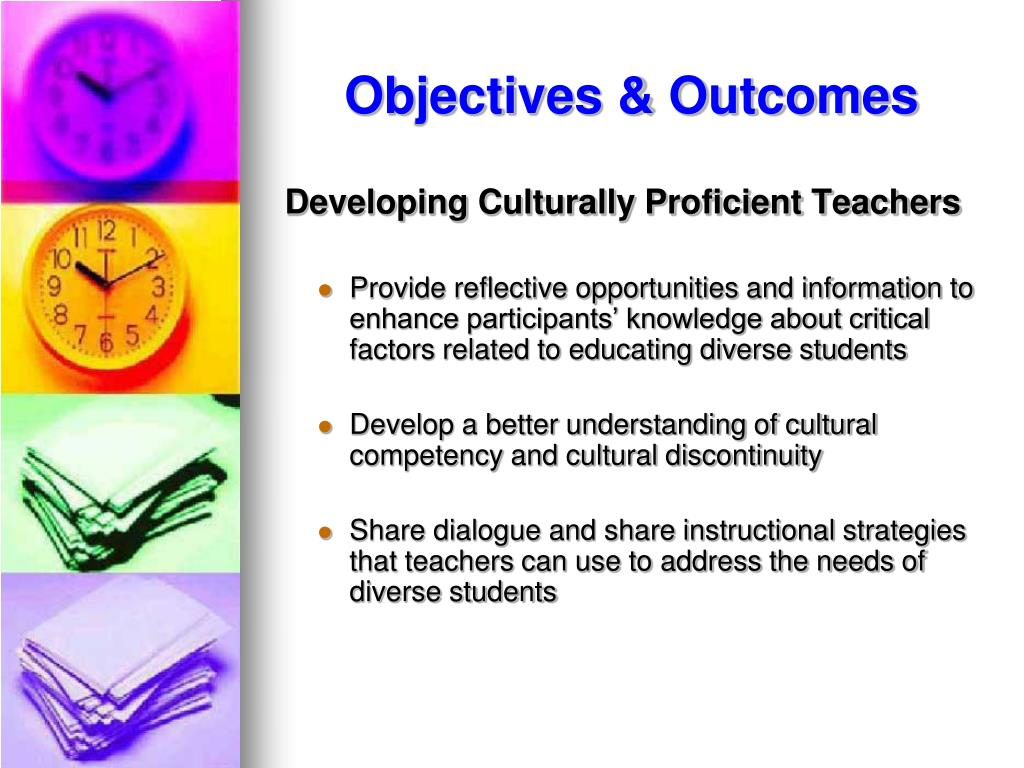 Objectives & Outcomes