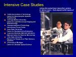 intensive case studies