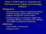 study 3 rvm project on scientific and technical human capital and knowledge diffusion