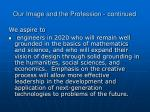 our image and the profession continued23