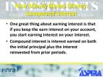 how money makes money compound interest