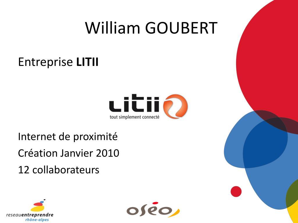 William GOUBERT