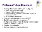 problems future directions