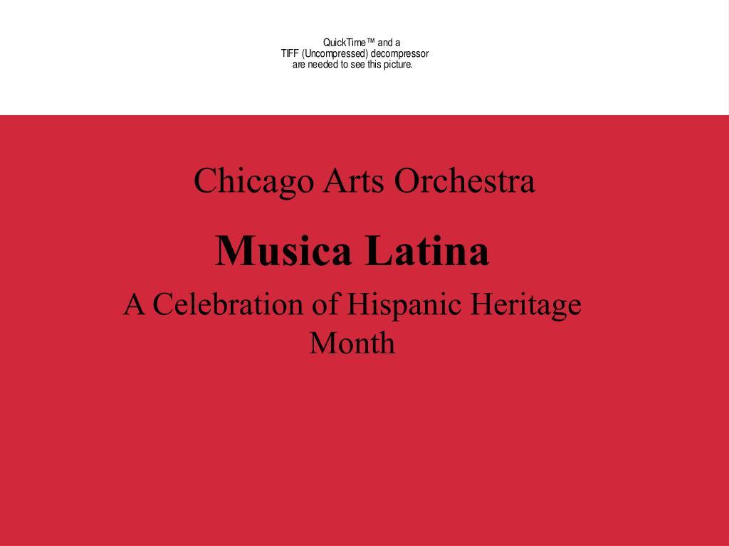 chicago arts orchestra l.