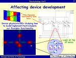 affecting device development
