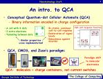 an intro to qca