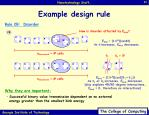 example design rule