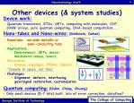 other devices system studies