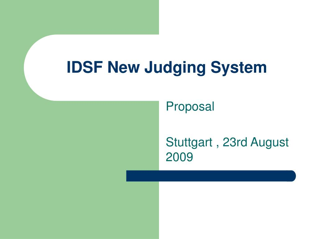 IDSF New Judging System