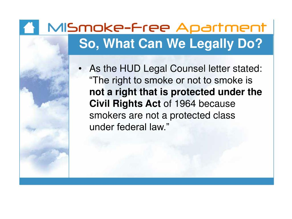 So, What Can We Legally Do?