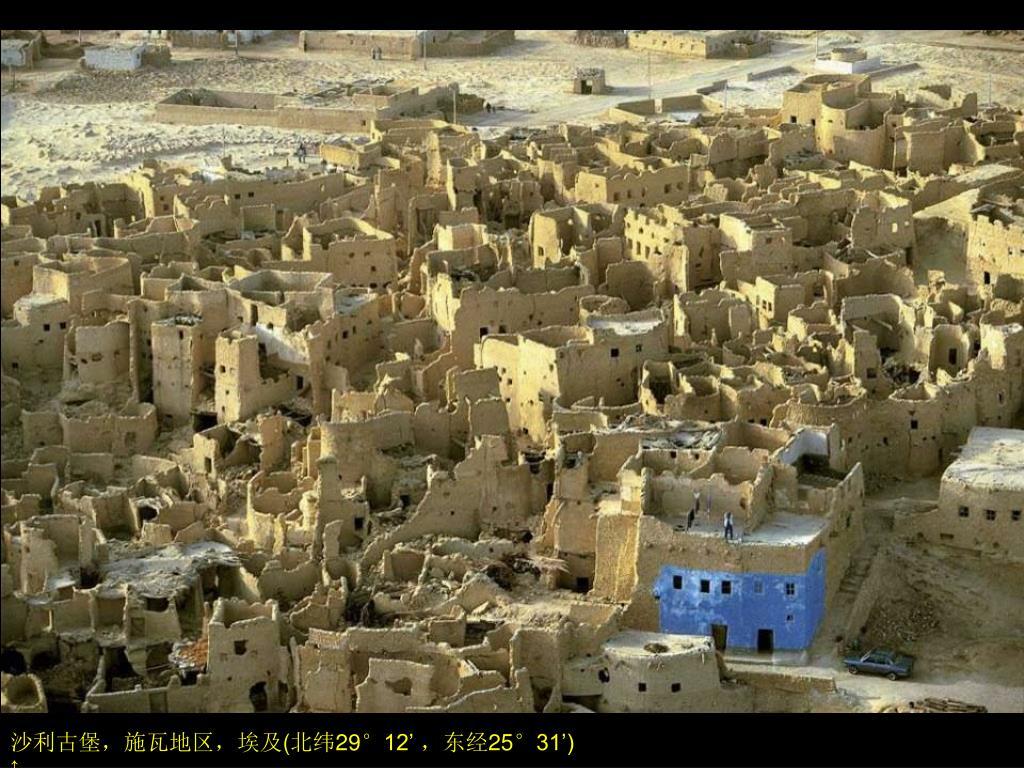 沙利古堡,施瓦地区,埃及