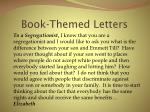 book themed letters12