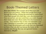 book themed letters13