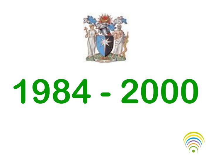 1984 2000