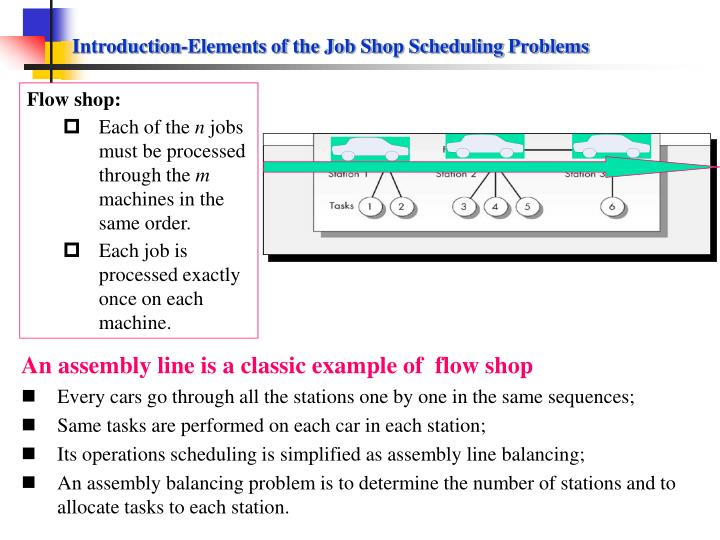 flow shop scheduling problem A computational study has been developed to obtain optimal / near optimal solution for the flow shop scheduling problem with make-span minimization as the primary criterion and the minimization of either the mean completion time, total waiting time.
