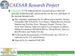 caesar research project