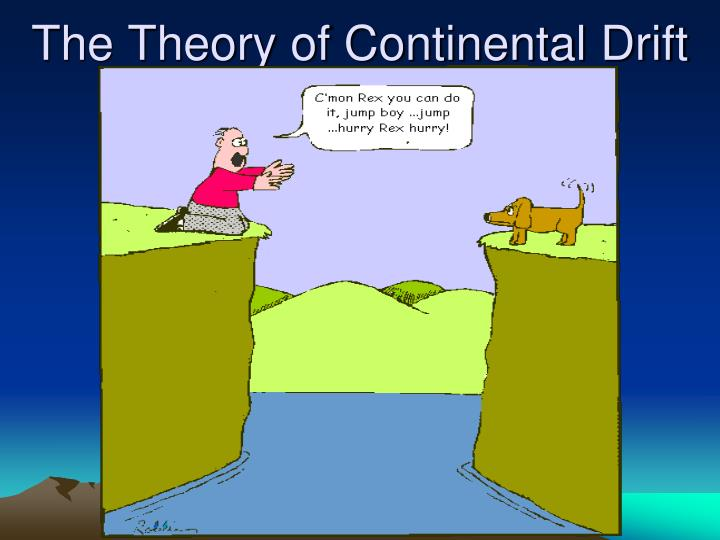 the theory of continental drift n.