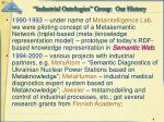 industrial ontologies group our history4