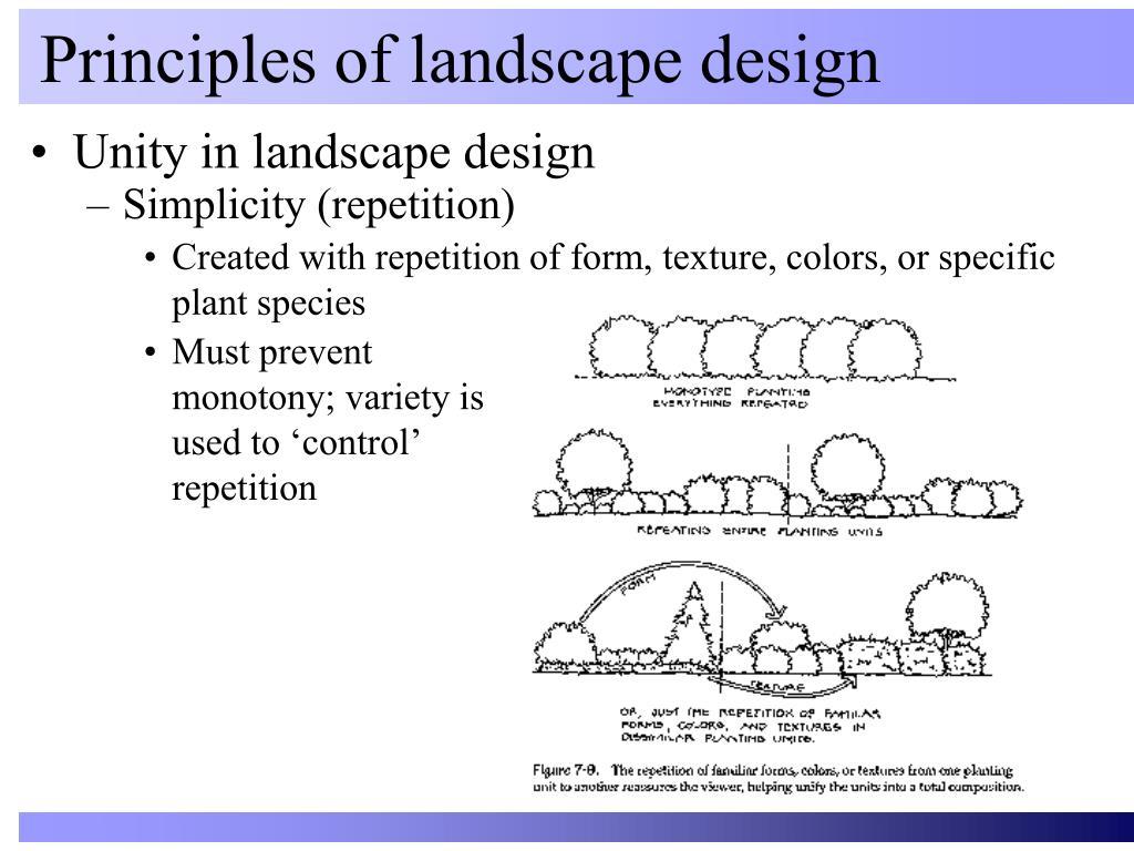 Ppt Principles Of Landscape Design Powerpoint Presentation Free Download Id 417019