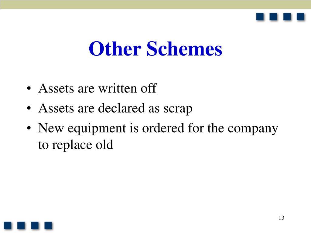 Other Schemes