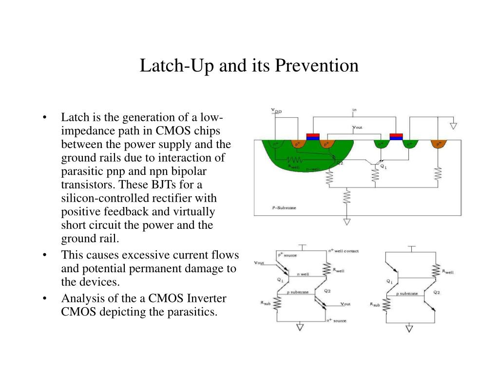 Ppt Latch Up And Its Prevention Powerpoint Presentation Id417081 Silicon Controlled Rectifier Circuits L