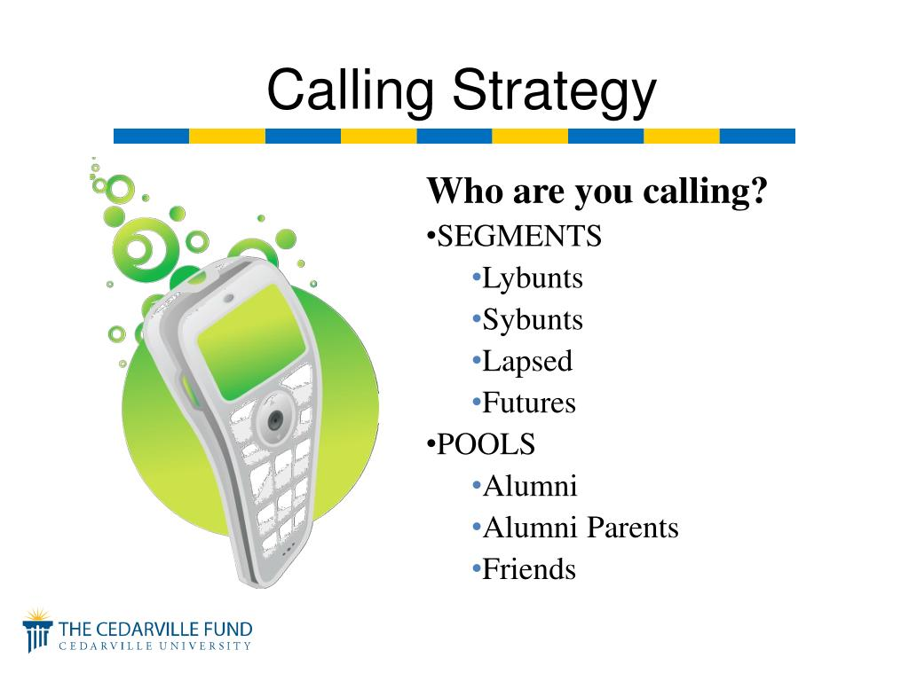 Who are you calling?