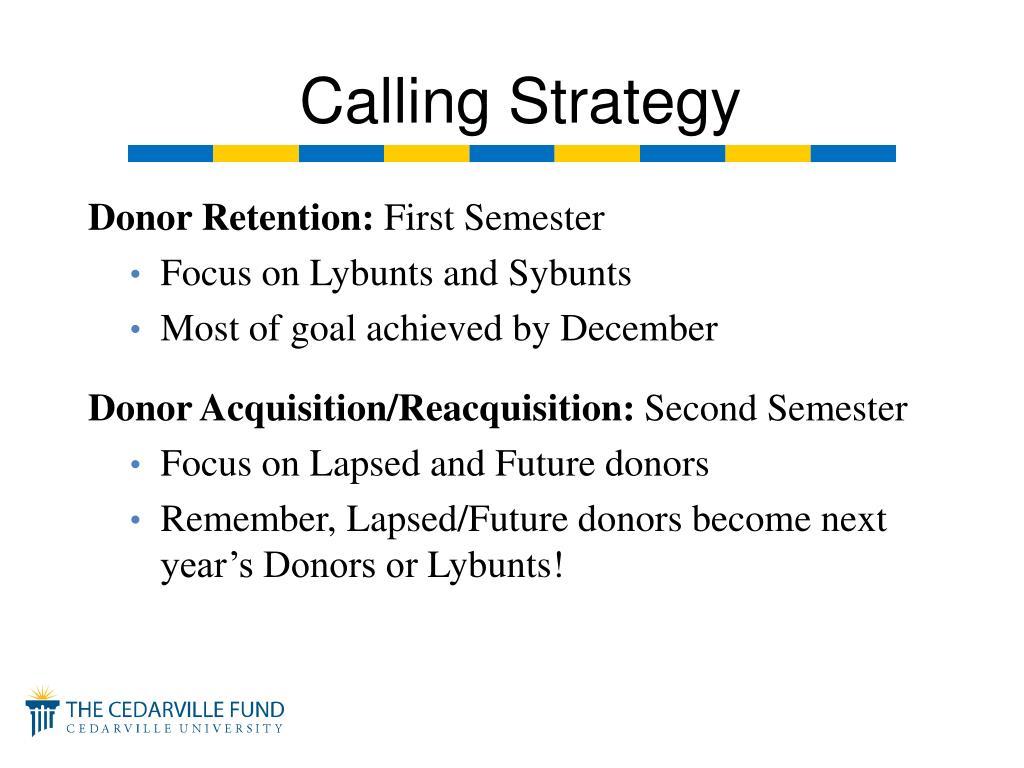 Donor Retention: