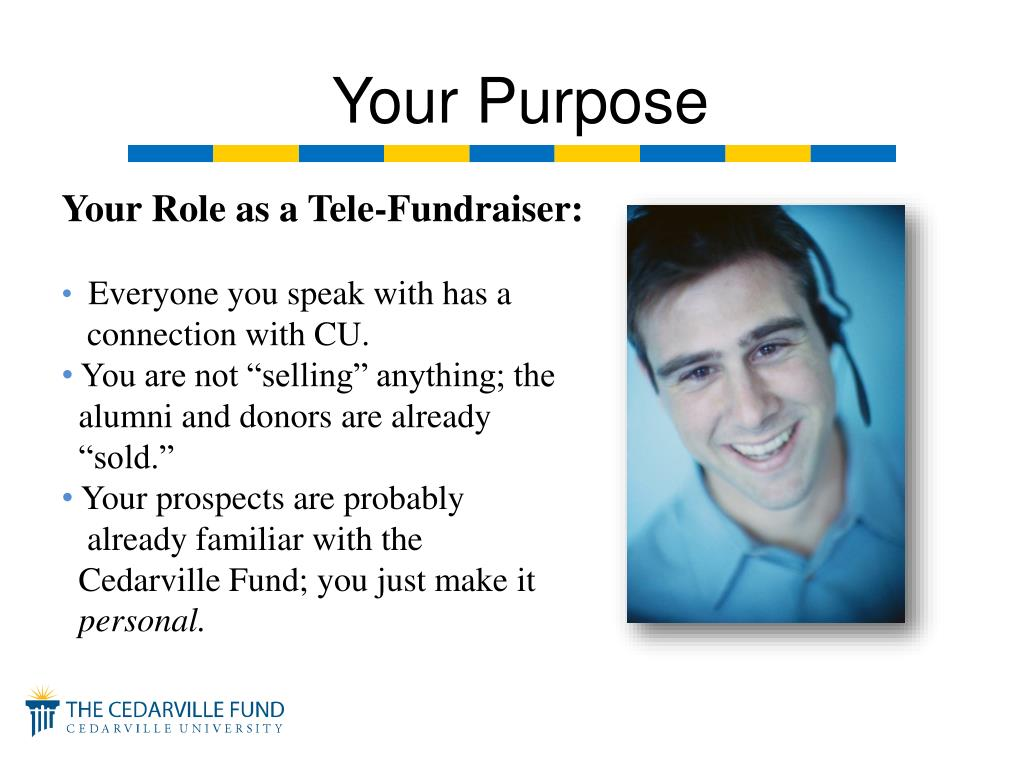 Your Role as a Tele-Fundraiser: