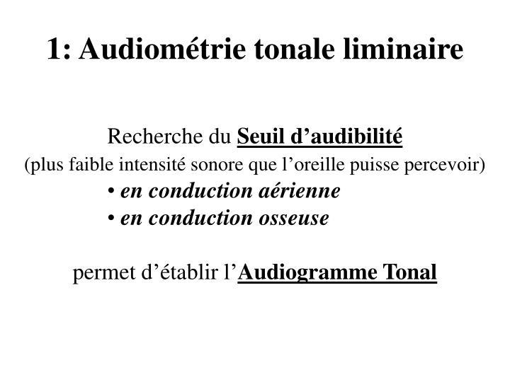 1 audiom trie tonale liminaire