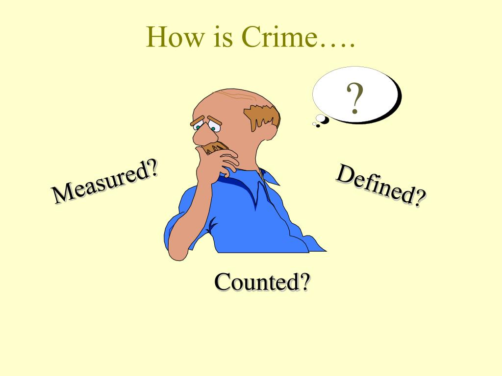 How is Crime….