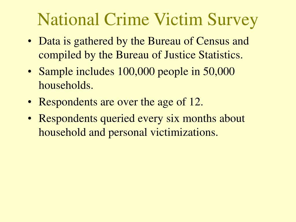 National Crime Victim Survey