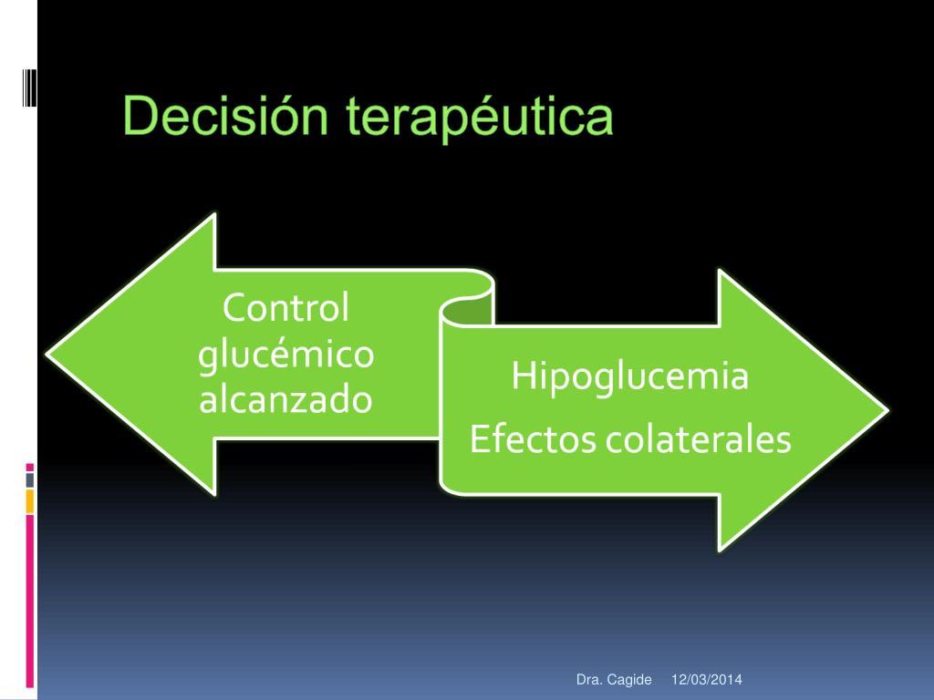 Decisión terapéutica