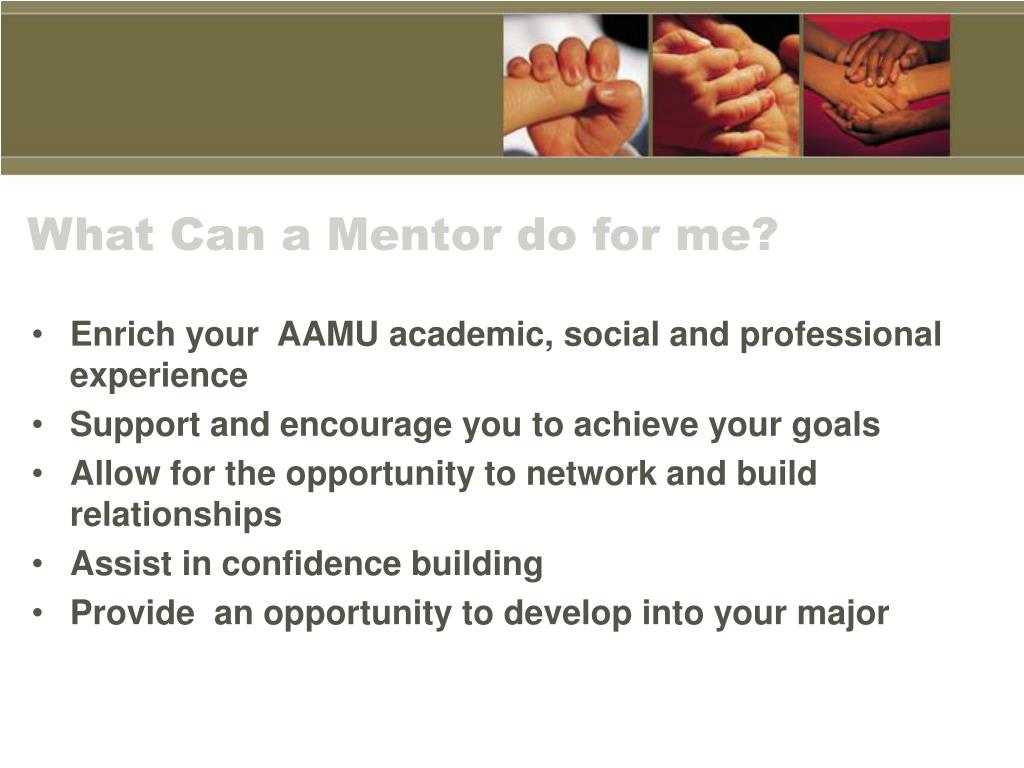 What Can a Mentor do for me?