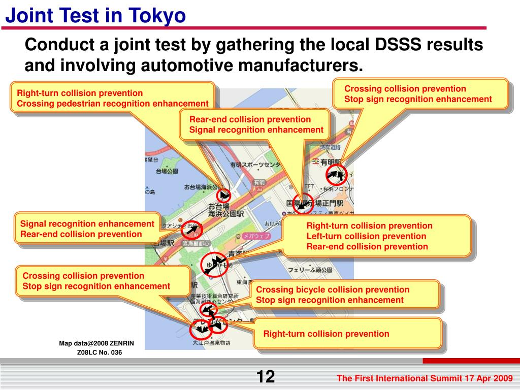 Joint Test in Tokyo
